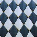 Rubik_Material_Lab_Hishigata_Black_White_PatternB_Ceramic_Tile